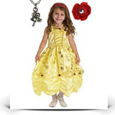 Specials Belle Princess Dress With Wonderchamrs
