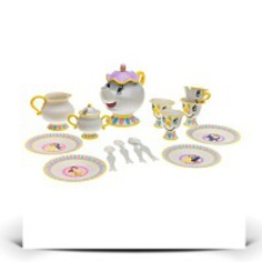 Specials Belle Talking Tea Set