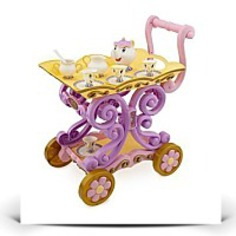 Belles Enchanted Tea Cart And Tea Set