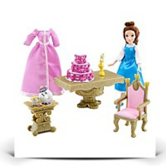 Mini Belle Princess Doll Play Set