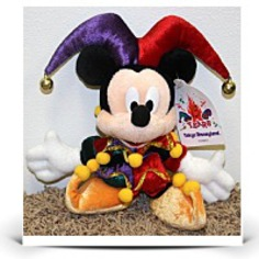 Rare Tokyo land 11 Jester Mickey Mouse