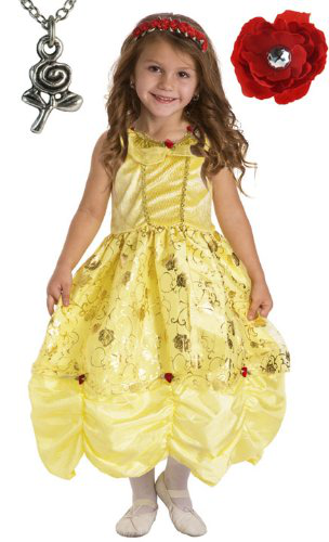 Belle Princess Dress With Wonderchamrs