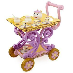 Belles Enchanted Deluxe Tea Cart Play